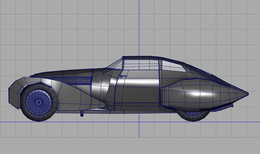 Antique Car royalty-free 3d model - Preview no. 6