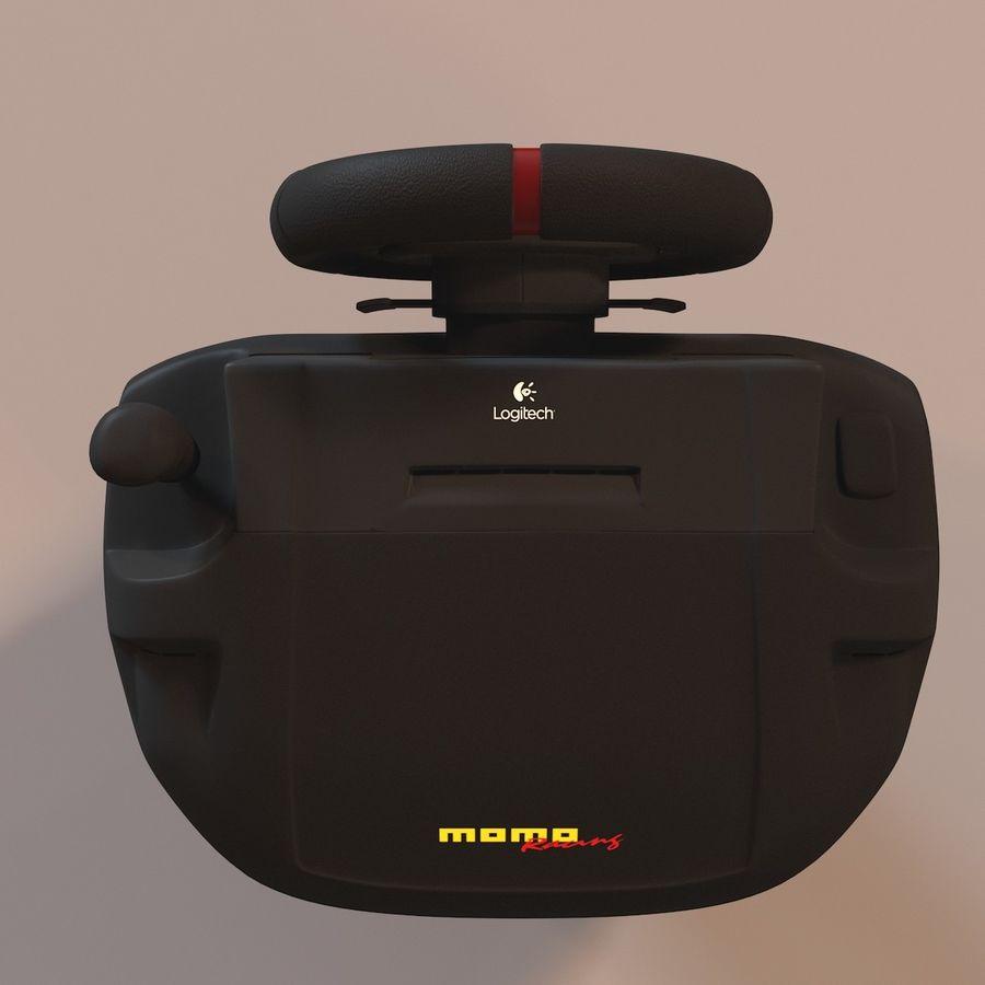 Logitech MOMO Racing 3D Model $20 -  max  obj  fbx - Free3D