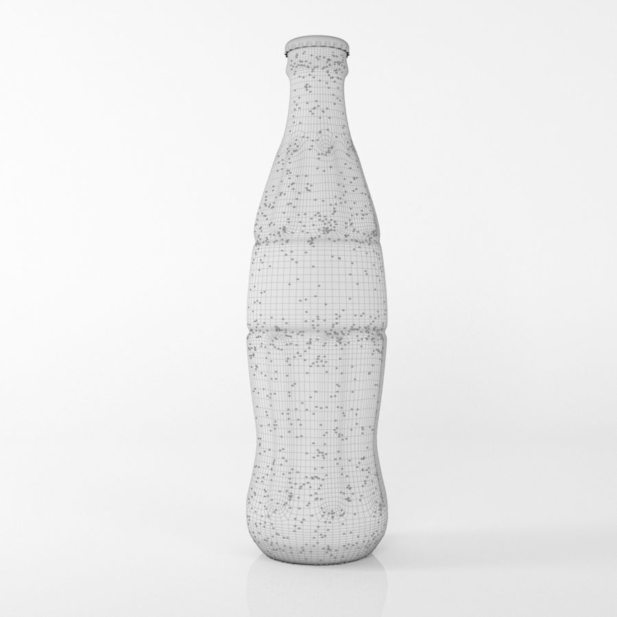 coca cola bottle royalty-free 3d model - Preview no. 5