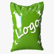 Food Packaging Bag 3d model
