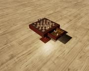 체스 테이블 3d model