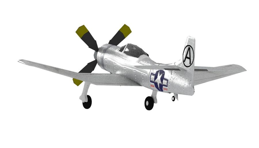 Kaiser fleetwings royalty-free 3d model - Preview no. 9
