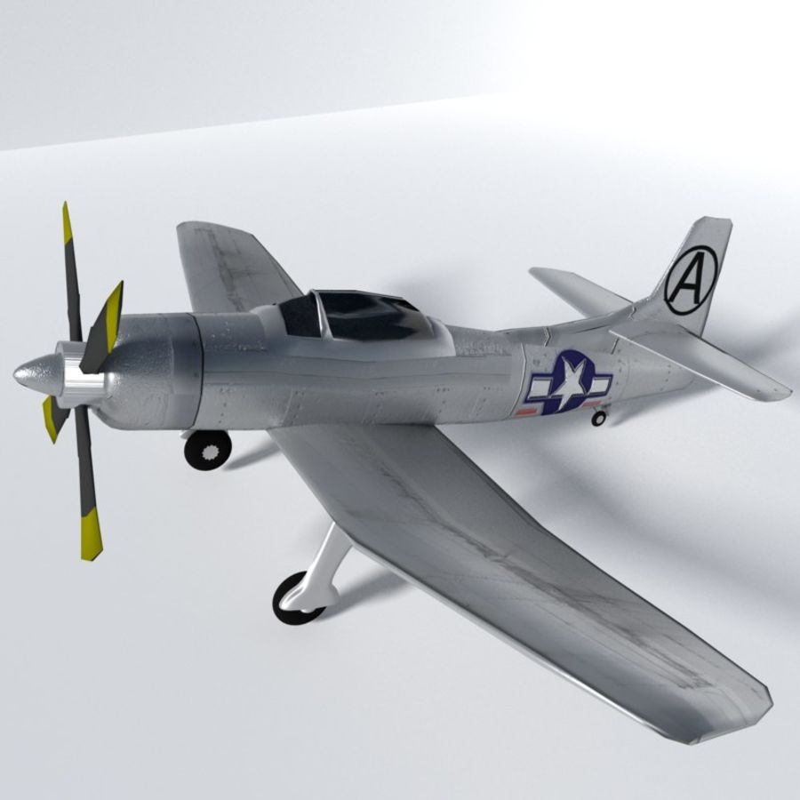 Kaiser fleetwings royalty-free 3d model - Preview no. 1