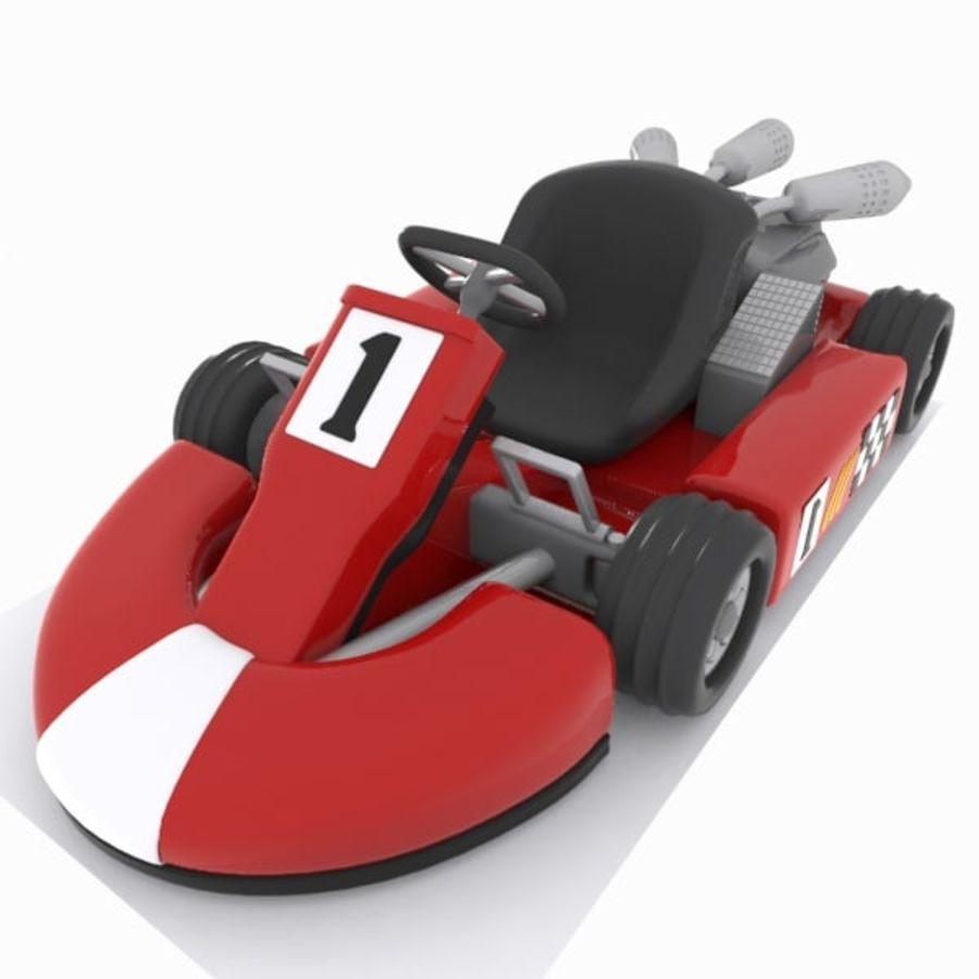 3d Model Go Kart Kart