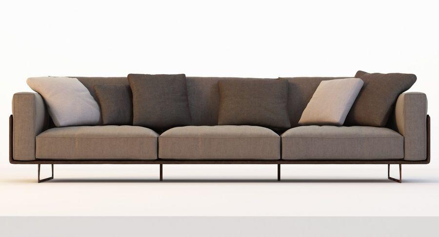 Roche Bobois Focus 5 Seat Sofa 3D Model $39 - .obj .fbx .3ds ...