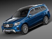 Mercedes-Benz GLS 2017 3d model