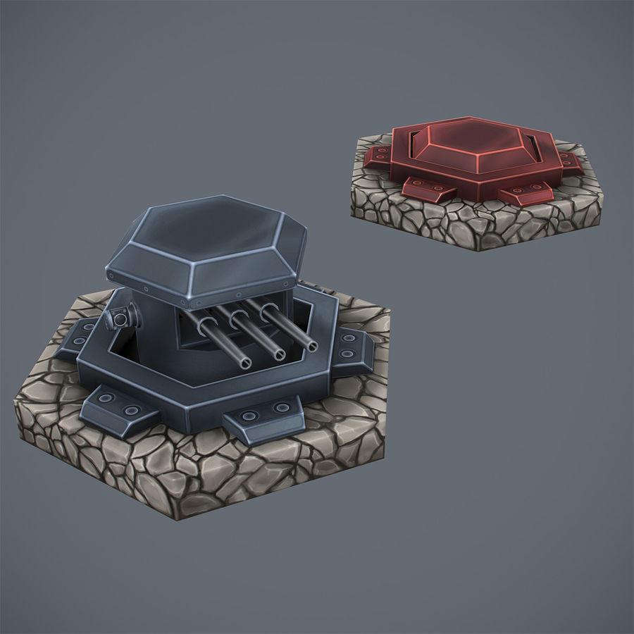 Torre de armas royalty-free modelo 3d - Preview no. 7