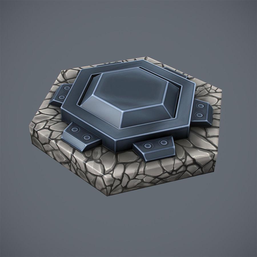 Torre de armas royalty-free modelo 3d - Preview no. 8