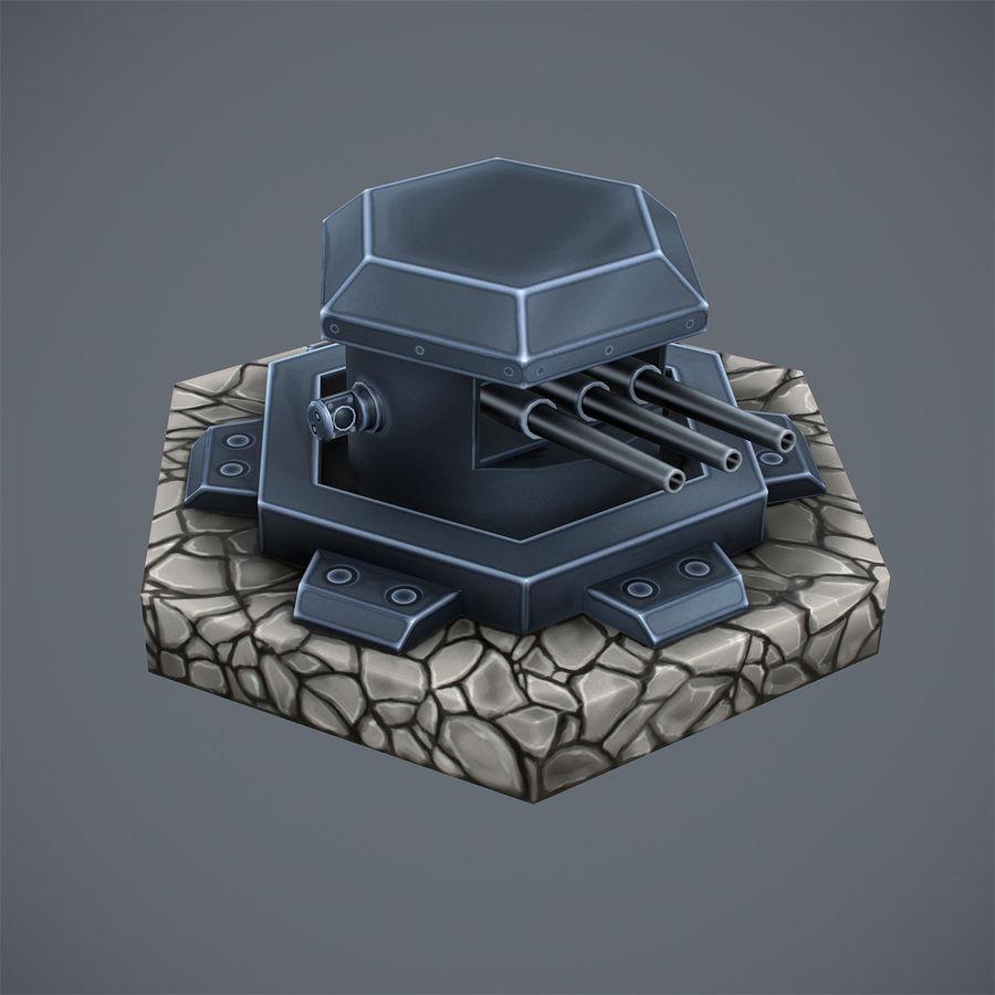 Torre de armas royalty-free modelo 3d - Preview no. 5
