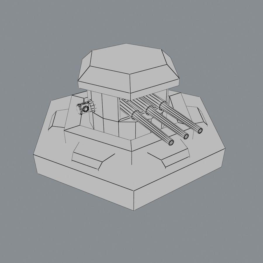 Torre de armas royalty-free modelo 3d - Preview no. 2