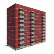 Multistory building 3d model
