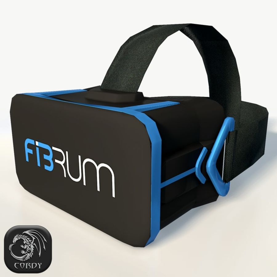 Fibrum VR headset (ultra) 3D Model $19 -  unknown  obj  max