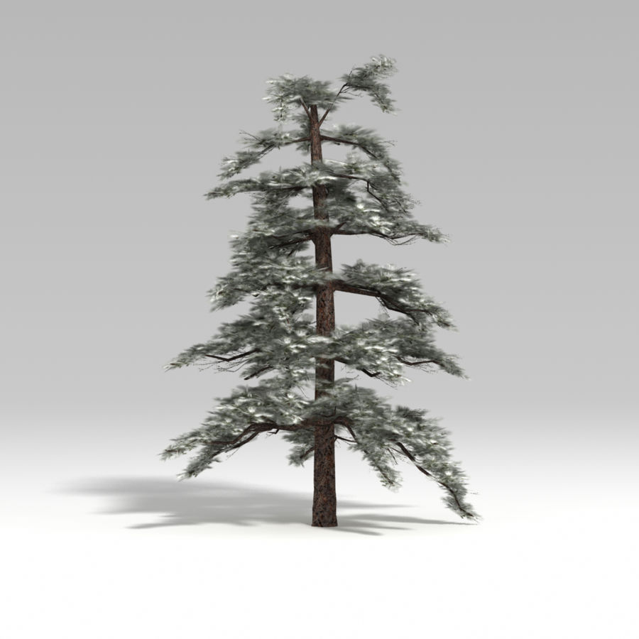 Snowtree V4 royalty-free 3d model - Preview no. 1