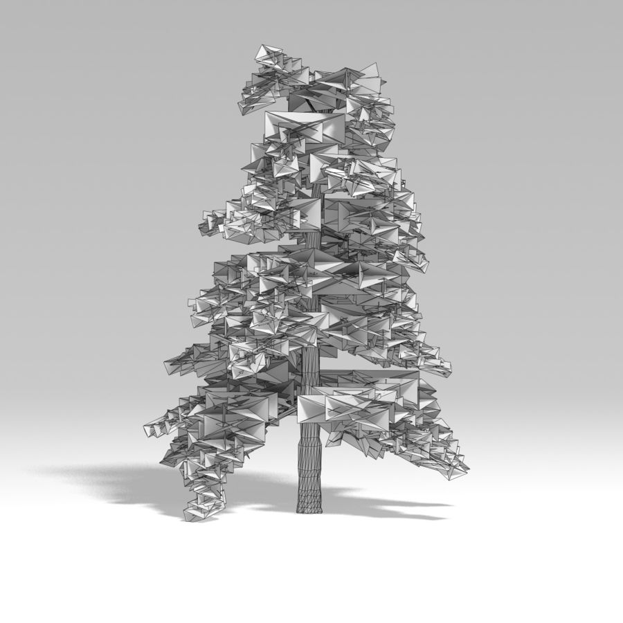Snowtree V4 royalty-free 3d model - Preview no. 9