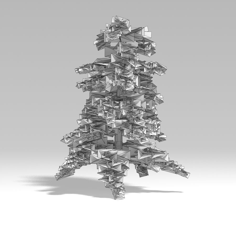 Snowtree V4 royalty-free 3d model - Preview no. 8