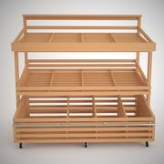 vegetable rack 3d model