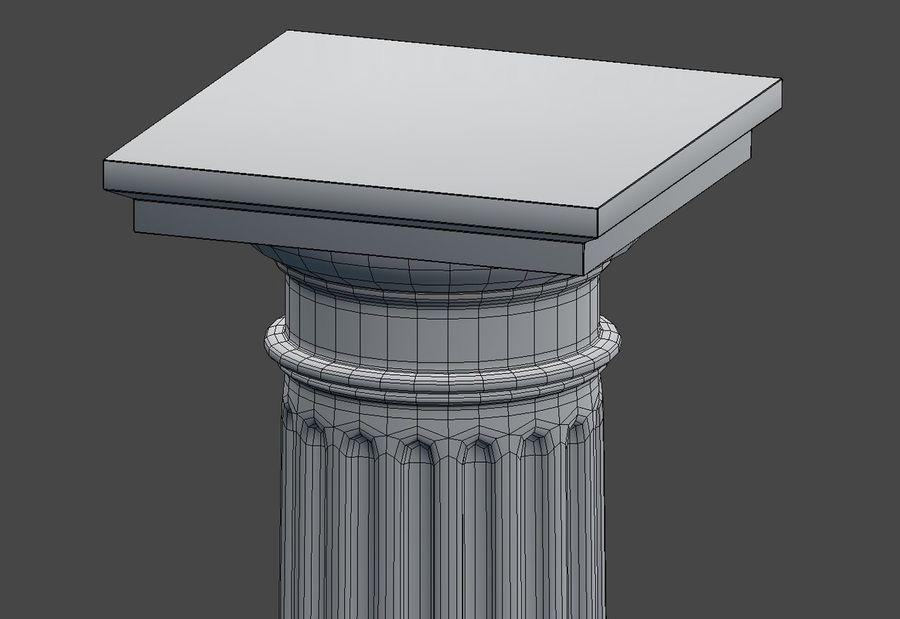 Doric Column royalty-free 3d model - Preview no. 12