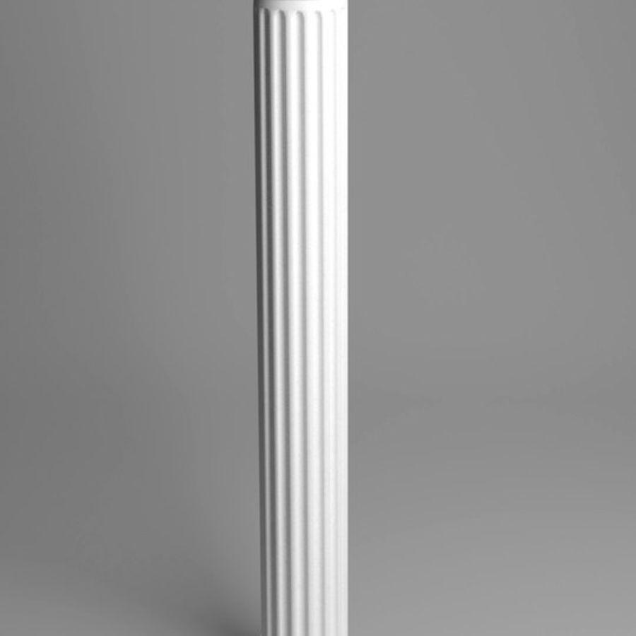 Doric Column royalty-free 3d model - Preview no. 4