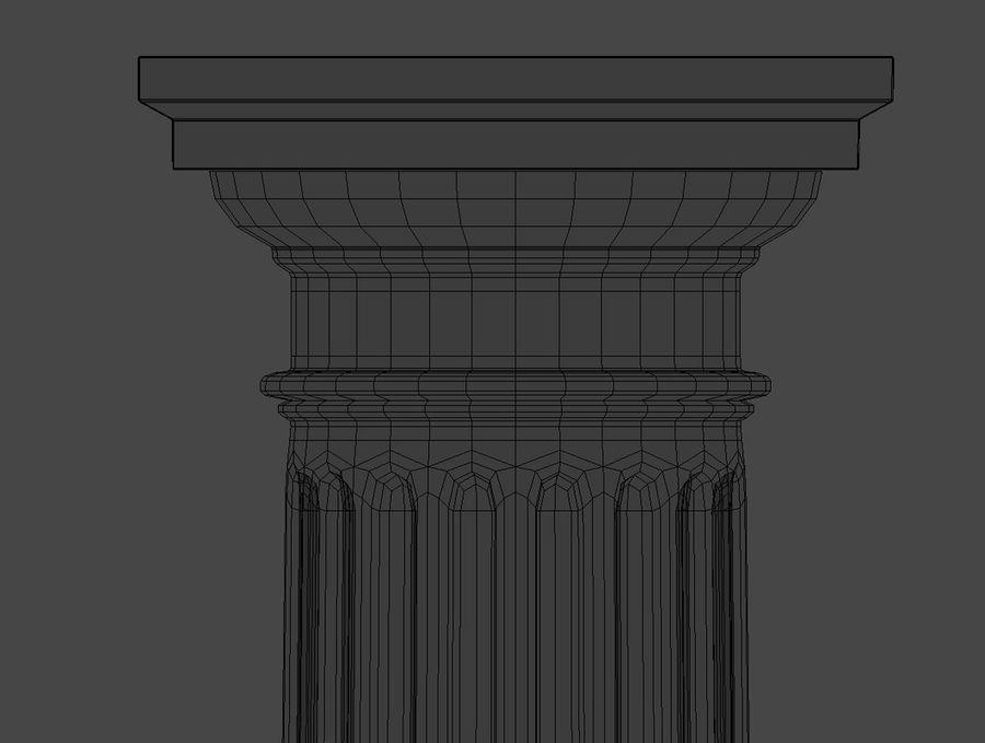 Doric Column royalty-free 3d model - Preview no. 14