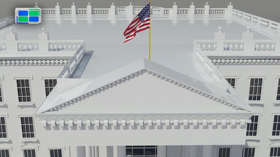 White House 3d Model 15 Max Free3d