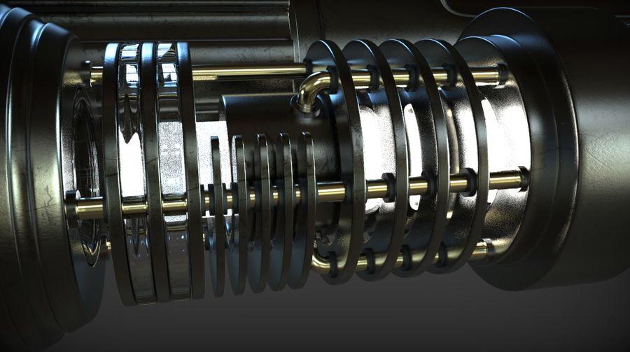 Keiran Halcyon Jedi Guardian Lightsaber royalty-free 3d model - Preview no. 16