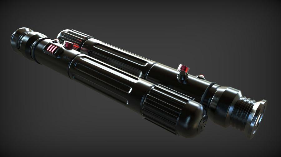 Keiran Halcyon Jedi Guardian Lightsaber royalty-free 3d model - Preview no. 8