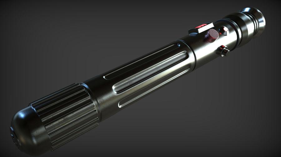 Keiran Halcyon Jedi Guardian Lightsaber royalty-free 3d model - Preview no. 5