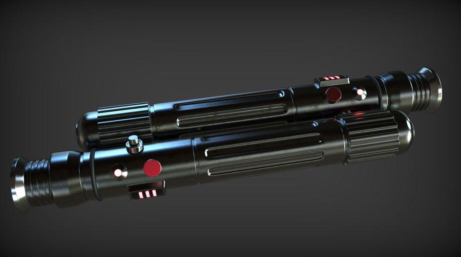 Keiran Halcyon Jedi Guardian Lightsaber royalty-free 3d model - Preview no. 10