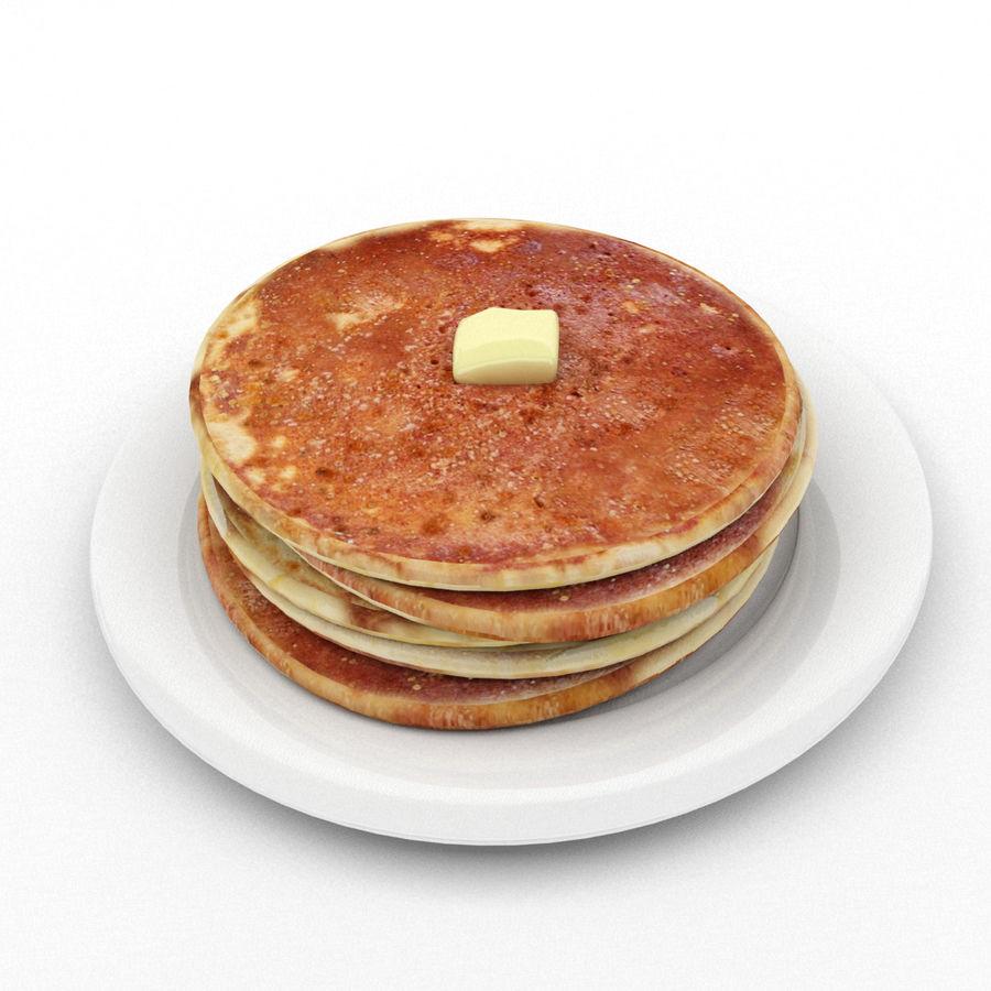 Pancakes royalty-free 3d model - Preview no. 1