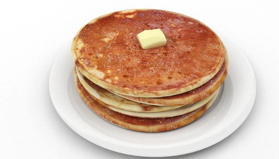 Pancakes royalty-free 3d model - Preview no. 5