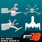 SpaceShips 2 3d model