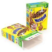 Caja de cereales - Nesquik modelo 3d