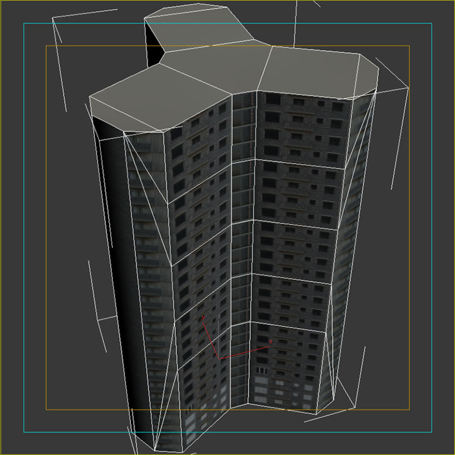Construction04 royalty-free 3d model - Preview no. 14