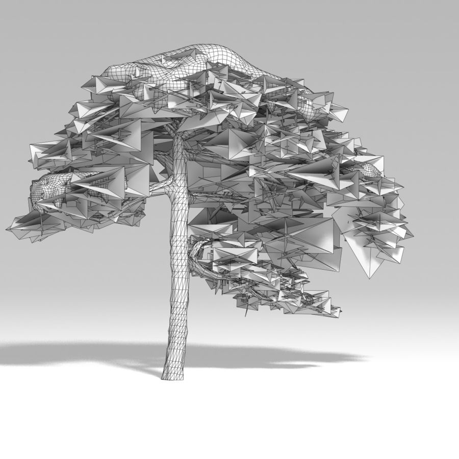snowtree V1 royalty-free 3d model - Preview no. 12