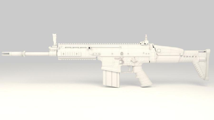 FN SCAR-H royalty-free 3d model - Preview no. 13