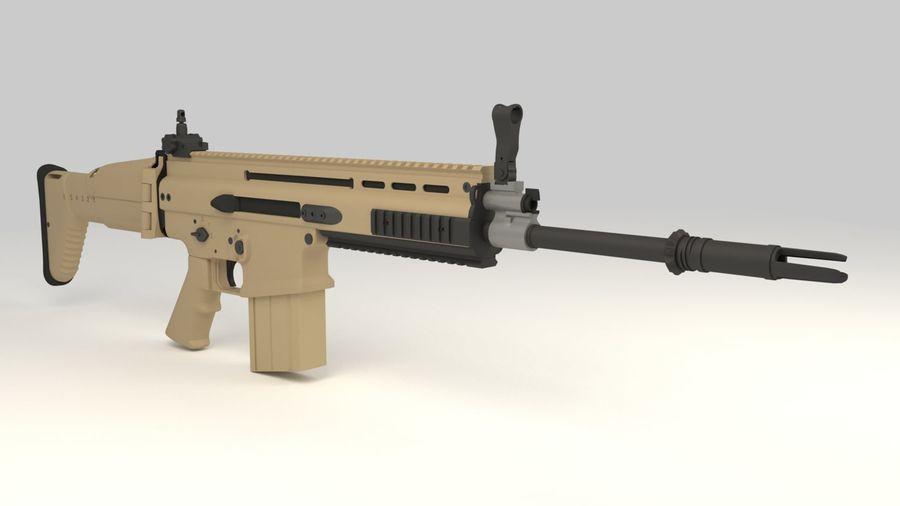 FN SCAR-H royalty-free 3d model - Preview no. 7