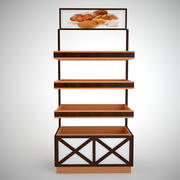 bread rack_2 3d model