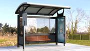 Busstopp Shelter 3d model