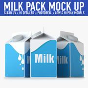 Milk Carton (2) 3d model