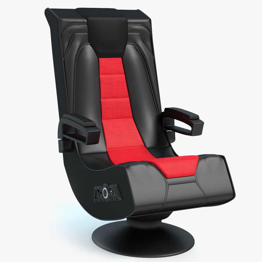 Gaming Chair 3d Model 19 Max Obj Fbx Dae Blend