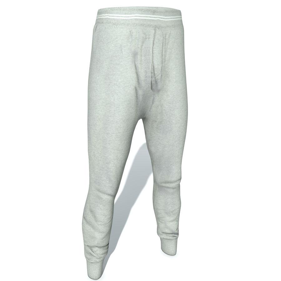 hombre no 3 casuales Preview free royalty Pantalones para 3d modelo pE8fWq