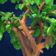 Низкополигональная фэнтезийная игра 3d model