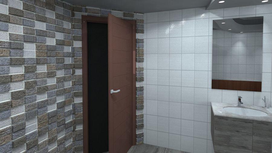 Salle de bain moderne modèle 3D $20 - .unknown .obj .max ...