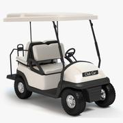 Машина для гольфа 3d model