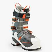 Prime Ski Boot 3d model