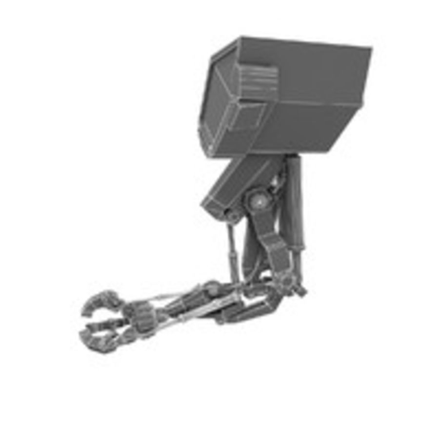 Robot Hand royalty-free 3d model - Preview no. 7