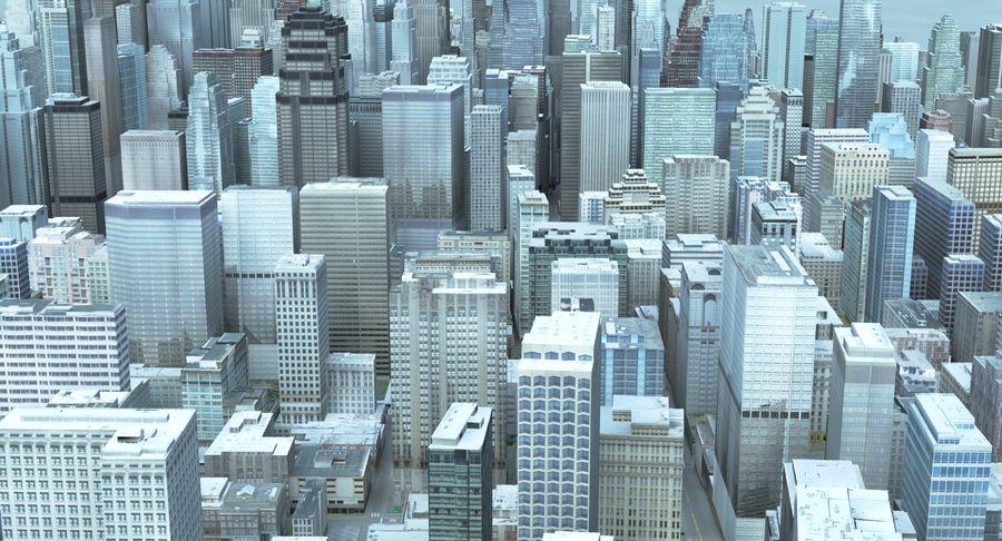 Büyük Şehir 47 royalty-free 3d model - Preview no. 9