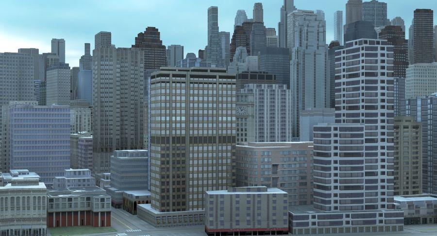 Büyük Şehir 47 royalty-free 3d model - Preview no. 8