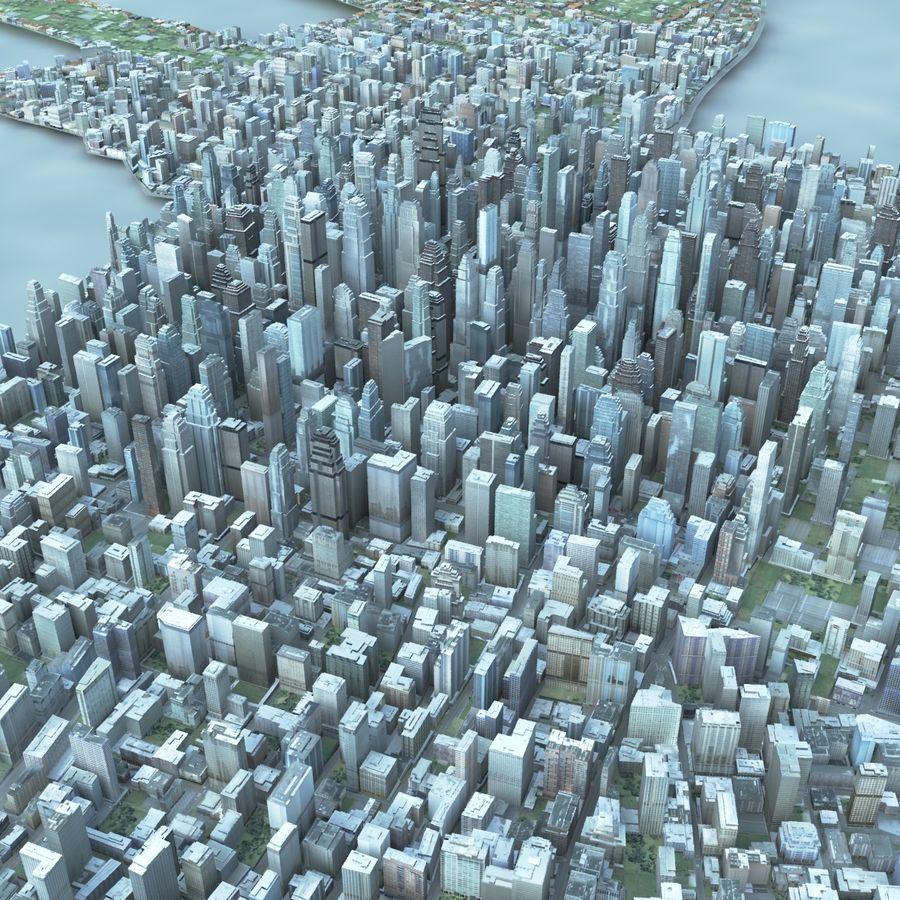 Büyük Şehir 47 royalty-free 3d model - Preview no. 1