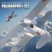 Polikarpov-153 3d model